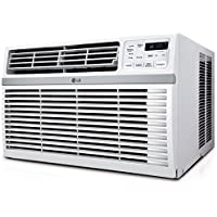 LG LW6018ER High Efficiency 6,000 Btu Window Air Conditioner with Remote Control, White