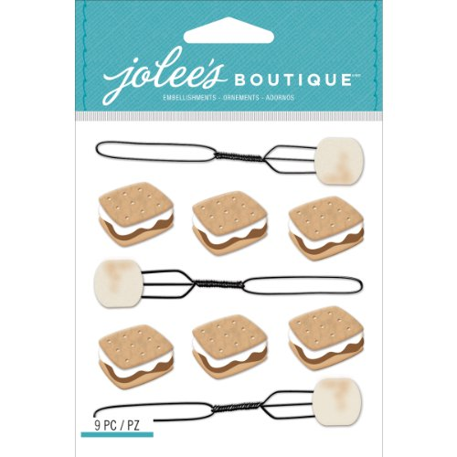S'Mores Stickers made our CampingForFoodies hand-selected list of 100+ Camping Stocking Stuffers For RV And Tent Campers!