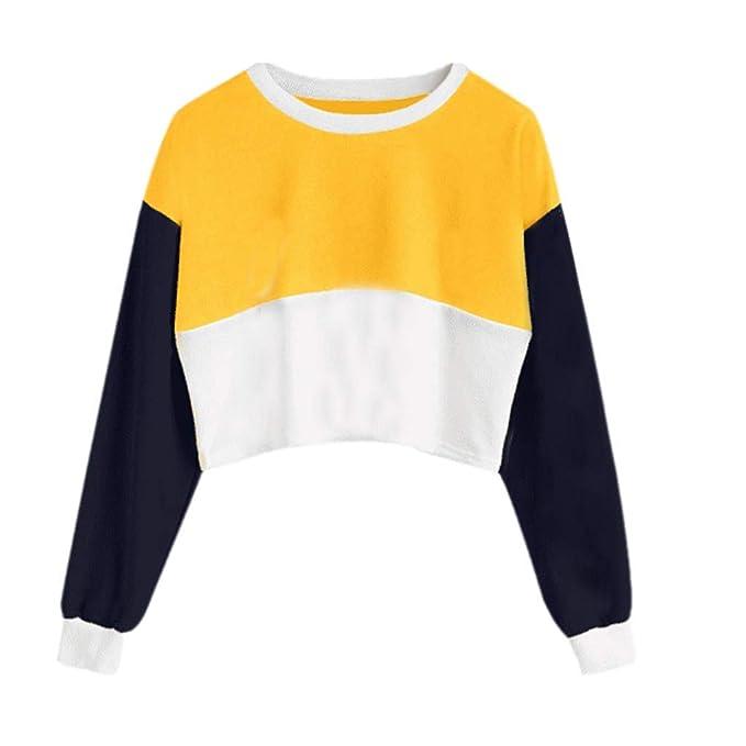 DEELIN Invierno De La Mujer Vestido De Moda Personalidad Casual Suelta Coser Color T-Shirt
