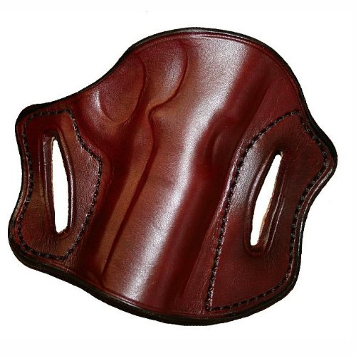 Left Hand - Tucker & Byrd Leather Pancake Belt Holster - H&K USP Compact - Dark Brown