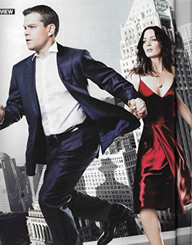 Matt Damon & Emily Blunt (The Adjustment Bureau) - March, 2011 Total Film [UK]