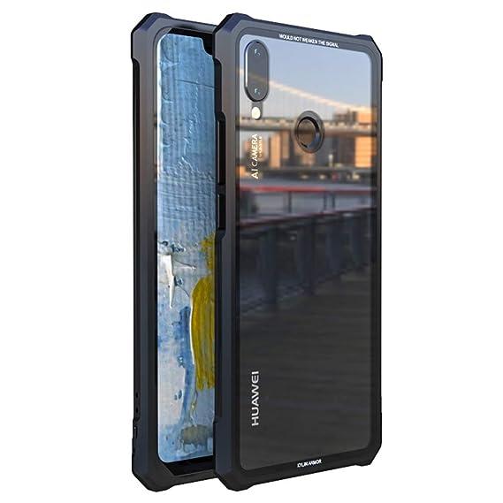 Amazon.com: Huawei P Smart+ Case, UBERANT Metal Frame ...