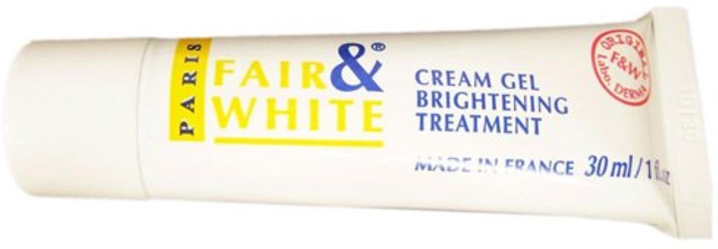 Fair and White Whitening Gel Creme 1 oz (Pack of 12)