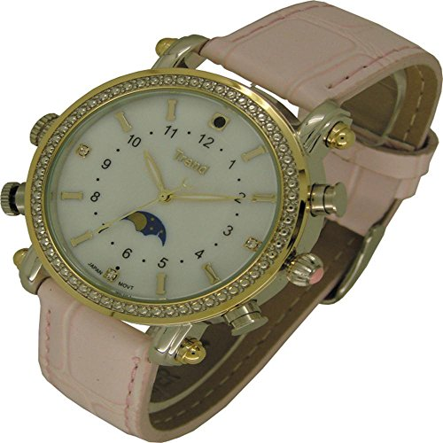 Ugetde 8GB Lady Design Mini Waterproof Camcorders Hidden Camera Watch DVR MP3 Player (Watch Video Recorder)