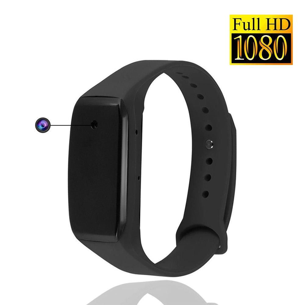 YYCAMUS HD 1080P Sports Adjustable Wearable Bracelet Portable Mini Cam Rechargeable Surveillance Camera