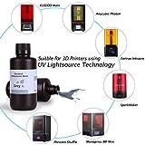 ELEGOO 3D Printer Rapid Resin LCD UV-Curing Resin