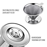 Soulhand Stainless Steel Coffee Filter Pour Over