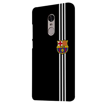 promo code 19d4d f9a5c Swagwag Back Case for Redmi Note 4 Barcelona Football: Amazon.in ...