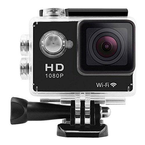 W9 12MP Sports Wi-Fi Action Camera (Black) - 7