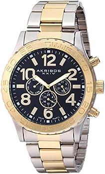 Akribos XXIV Swiss Multifunction Men's Watch