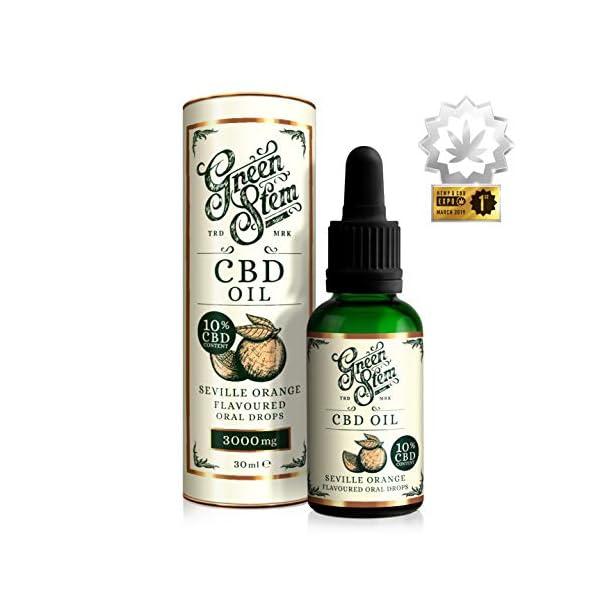 Green Stem Seville Orange CBD Oil 3000mg