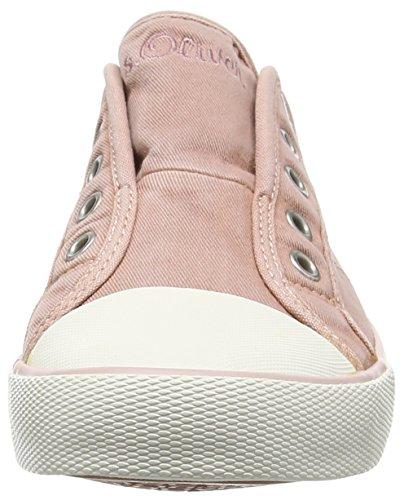 s.Oliver 24635 Damen Sneakers Pink (OLD ROSE 512)