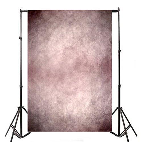 Leyiyi Grunge Vintage Pastel Photography Backdrops 5x7ft Vinyl HD Retro Abstract Pink Gradual Change Art Wall Photo Backgrounds Portrait Video Studio Props -