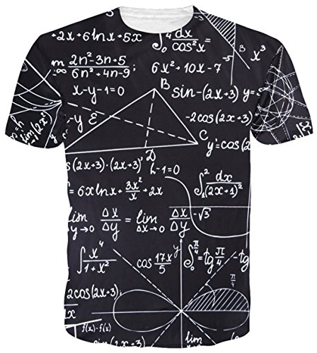 Belovecol Mens Cool 3D Print Tshirts Short Sleeve Crewneck Graphic Tee Shirts Tops S-XXL