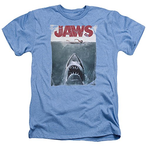 Heather Title large Mens Adamimyclay Jaws Shirt xx qzWtnnP6B