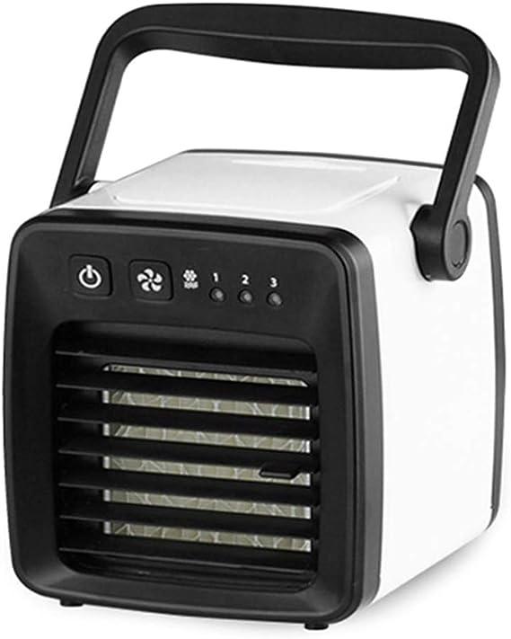 Mini enfriador de aire portátil Ycncixwd, con USB, sin ruido ...