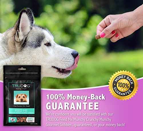 Real Meat Organic Dog Food-Feed Me: Freeze Dried Raw Superfood for Optimal Canine Health and Natural Longevity - All Natural - Balanced Nutrition - No Filters, No Grain - Just Add Water (Turkey, 14oz) by TruDog (Image #5)'