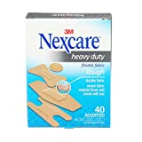 Nexcare Heavy Duty Fabric Bandages, 40 Bandages, Assorted Sizes