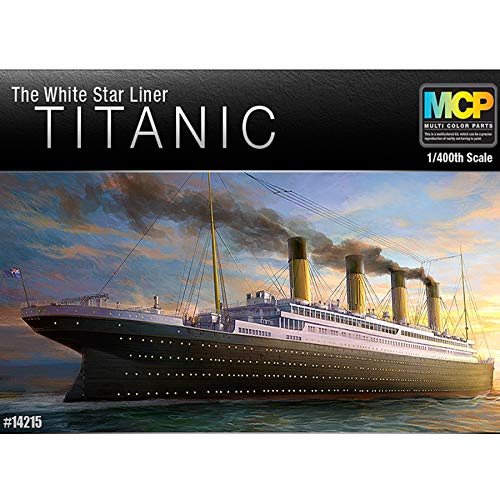 Academy Hobby Model Kits Scale Model : Battle Ships & Aircraft Carrier Kits (1/400 R.M.S Titanic MCP)