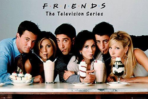 Pyramid America Friends Milkshake Poster Print (Best Print Poster Friend)