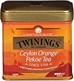 Twinings Ceylon Orange Pekoe Tea, Loose Tea, 3.53-Ounce Tins (Pack of 6)
