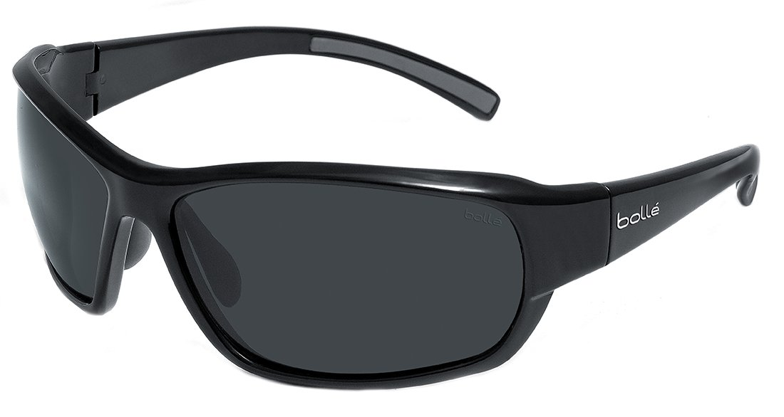 Bollé Sonnenbrille Bounty, Shiny Black, One size, 11678