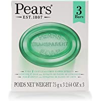 Pears Transparent Soap with Lemon Flower Extract, 3 Bars