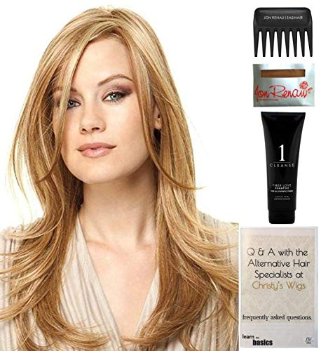 Bundle - 5 items: Scene Stealer by Raquel Welch Wig, Christy's Wigs Q & A Booklet, Wig Shampoo, Wig Cap & Wide Tooth Comb (Color Selected: RL6_30)]()