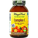 MegaFood - Complex C, Supports & Maintains Healthy Immune Function, 180 Tablets (FFP)