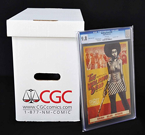 """CGC/PGX Graded Comic Storage Box - Official Authorized - Measures 15"""" x 8-1/2"""" x 13"""" - Case of 5 Boxes!"""
