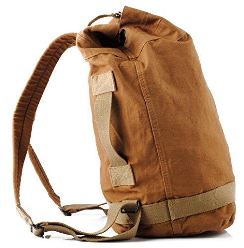 Naughtybags Womens Vintage Canvas Shoulder Bag Tote Bag Hobo Shopper Duffel Bag