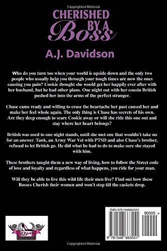 Amazon com: Cherished By a Boss (9781548663551): A J  Davidson: Books