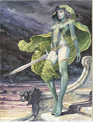 "Guardians of the Galaxy Gamora Poster by Manara (24"" x 36"") Rolled/New!"
