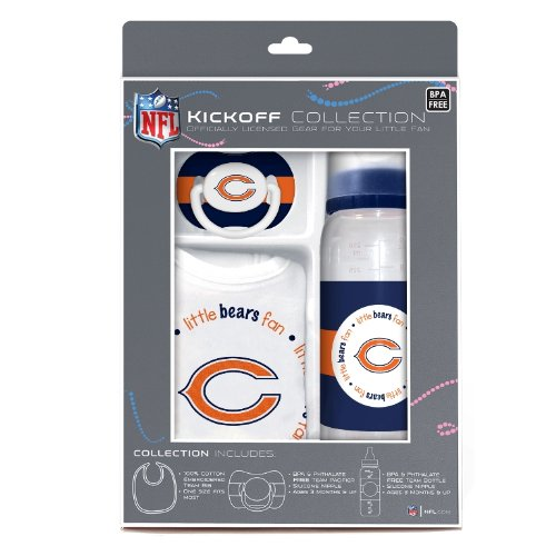 NFL Chicago Bears Baby Gift Set (Discontinued by Manufacturer)