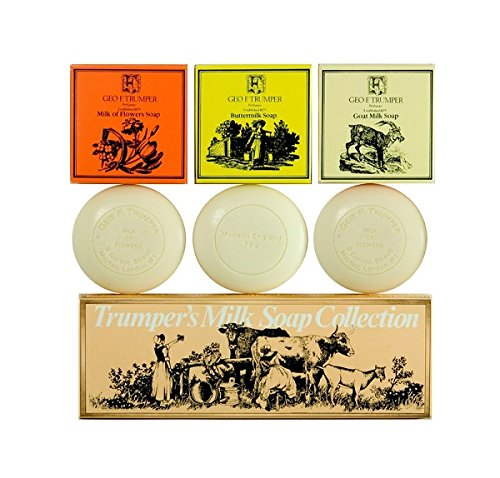Geo F Trumper Milk Hand Soap Collection 3x75g by Geo F. Trumper