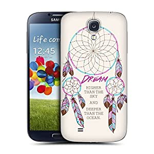 DIY Case Designs Dream Higher Dreamcatchers Replacement Battery Back Cover for Samsung Galaxy S4 I9500 by ruishername