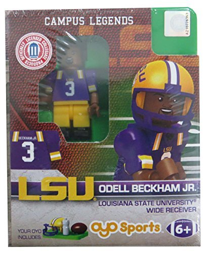 Odell Beckham Jr OYO Generation 1 G1 LSU Tigers NCAA LE Mini Figure ()