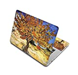 Oil Painting Waterproof Notebook Stickers For Laptop Skin Computer Decals For Mac Air 13.3/Acer/Dell/Asus,Custom Other Size,Laptop Skin 4