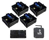 4x American DJ WiFLY Chameleon + DMX Controller + Wireless DMX Transmitter/Receiver