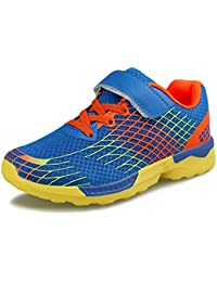 Kids Strap Running Shoes Boys Girls Breathable...
