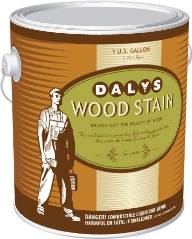 Daly's Wood Stain, 64 English Oak, 1/2 Pint