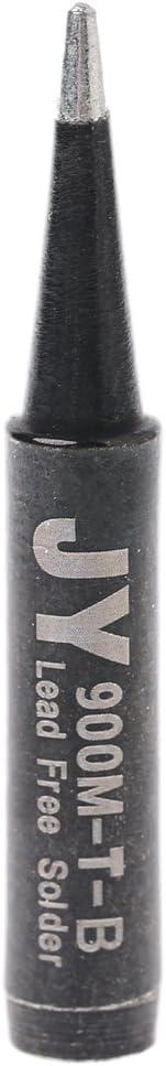 BIlinli 5 St/ücke Bleifreies L/öten L/ötspitzen 900M-T F/ür Hakko 936 SAIKE 909D 852 936d