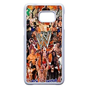 WWE For Samsung Galaxy S6 Edge Plus Whie Cell Phone Case Cover 14B8U1202343