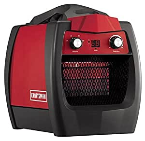 Portable 1500 Watt Infrared Heater Built for Use in Tough ...
