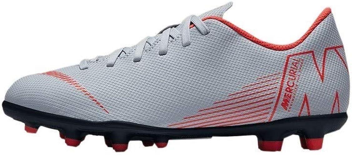 Zapatillas de F/útbol Unisex Ni/ños Nike Vapor 12 Club GS MG