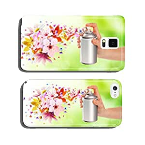 Flower-scented room sprays and flowers from inside - 2 cell phone cover case Samsung S5