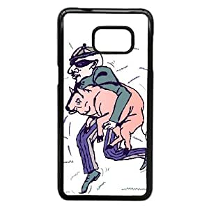 Good Phone Case With High Quality Man Pattern On Back - Samsung Galaxy S6 Edge Plus