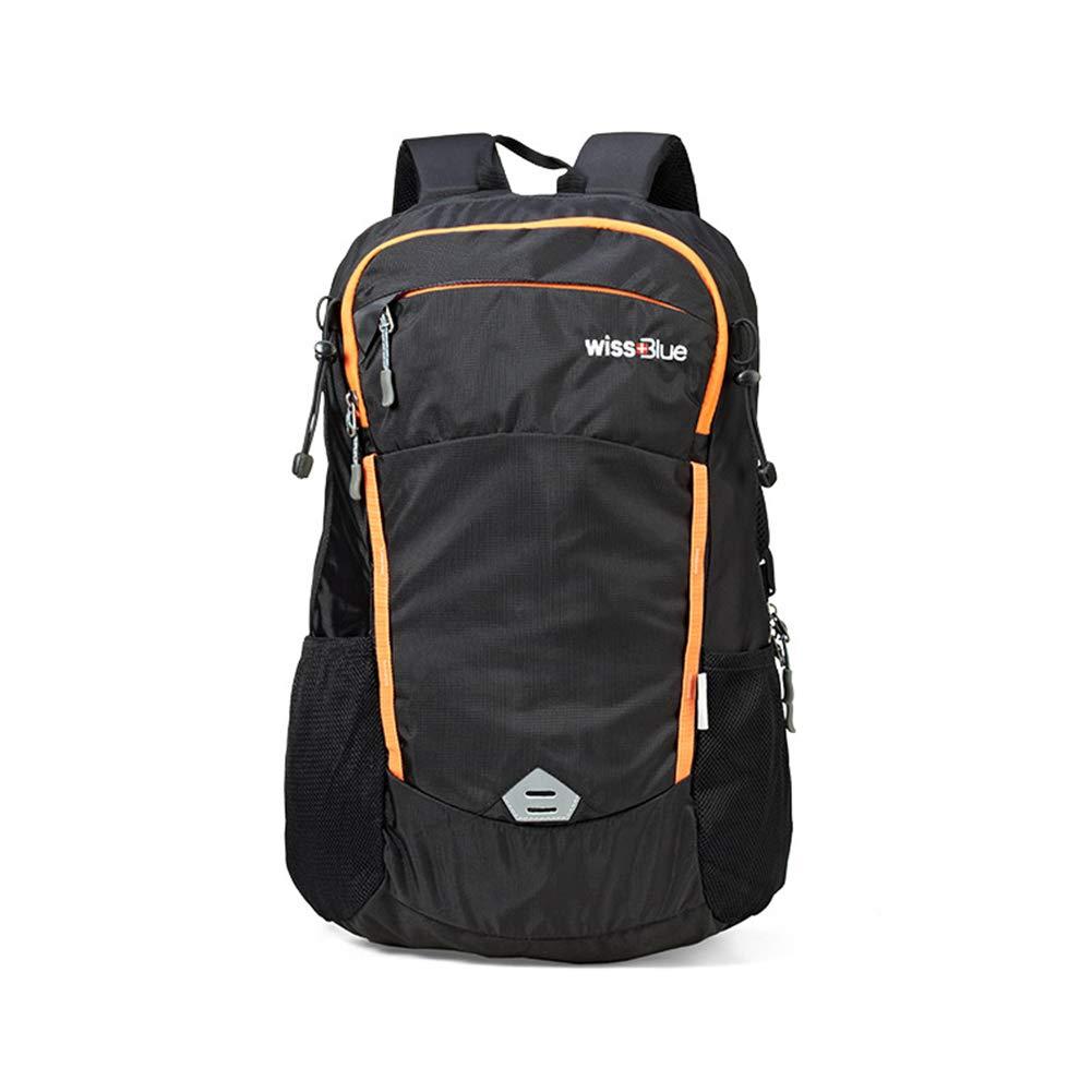 クライミングバックパック、35L アウトドアリュックサックユニセックス軽量ハイキングデイパック多機能旅行キャンプナップサック,black,51*35*16cm 51*35*16cm black B07M9SXZF7