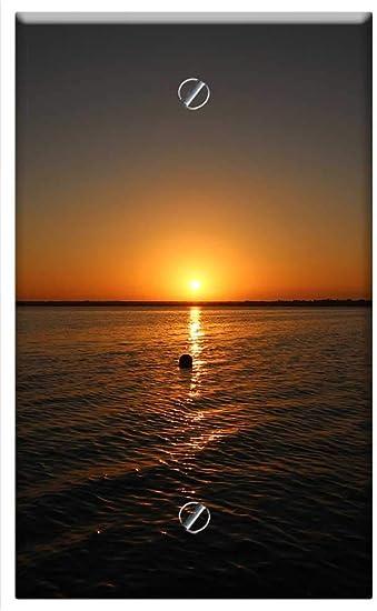 Single Gang Blank Wall Plate Cover Bacalar Magic Town Quintana Roo Mexico 1 Amazon Com