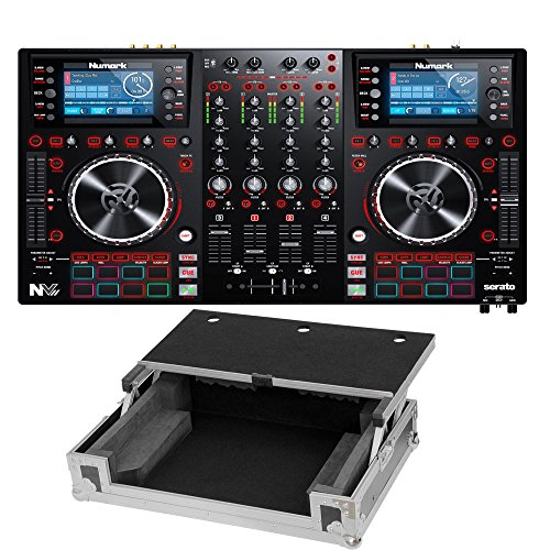 - Numark NVII for Serato DJ with Intelligent Dual-Display Screens & Touch-Capacitive Knobs. With Free Case.